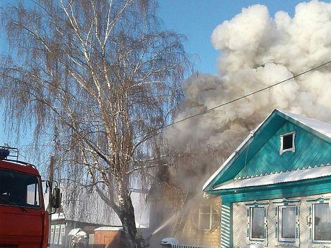 Дом зажегся врайоне «Болота» вИжевске