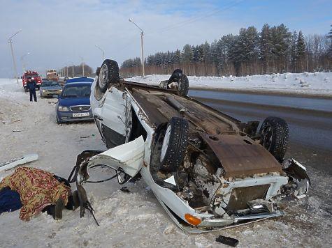 ВУдмуртии 55-летний шофёр «Лада» скончался наместе ДТП